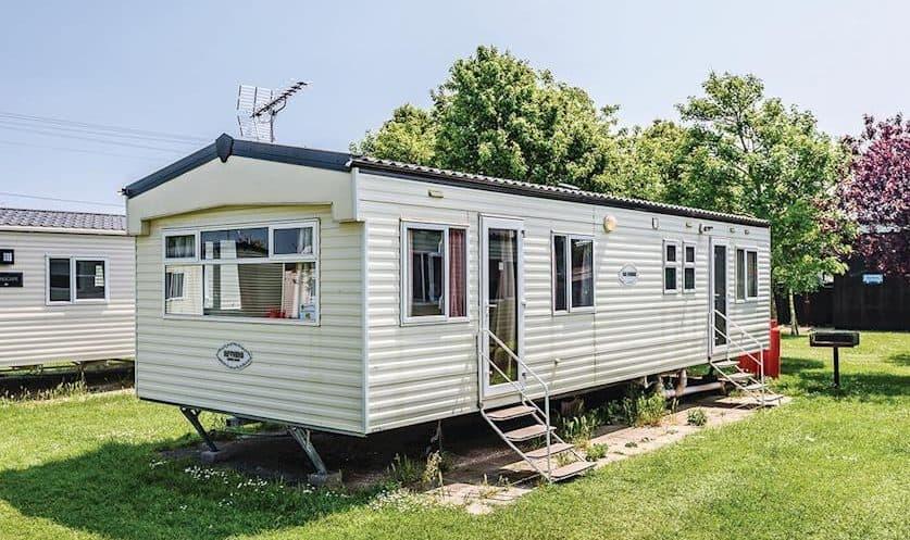 Дом-караван на приколе Static caravan