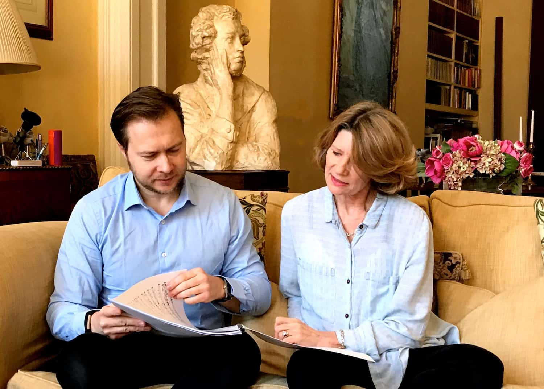 Marita Phillips and Konstantin Boyarsky