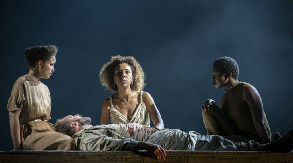 Antony and Cleopatra. Photo by Johan Persson