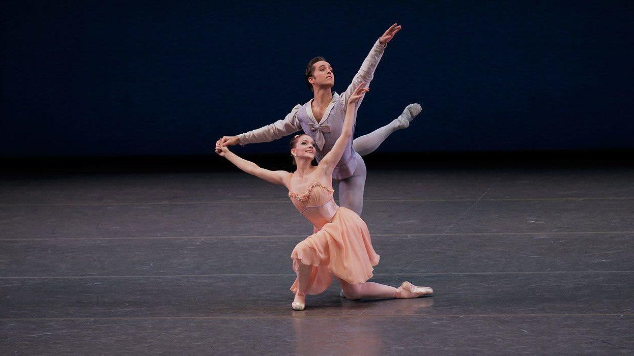 балет на музыку Чайковского / Tchaikovsky Pas de Deux